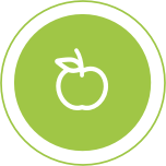 Online Nutrition Science Education Individual Training Icon